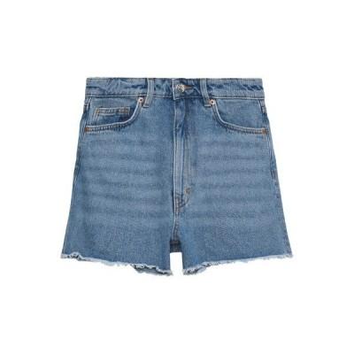モンキ デニムパンツ レディース ボトムス KELLY - Denim shorts - blue medium dusty