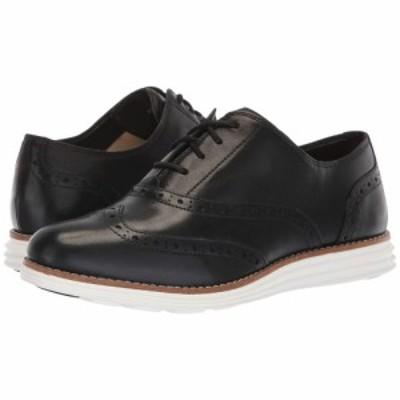 コールハーン Cole Haan レディース ローファー・オックスフォード シューズ・靴 Original Grand Wing Oxford II Black/Optic White
