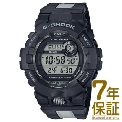 【正規品】CASIO カシオ 腕時計 GBD-800LU-1JF メンズ G-SHOCK Gショック G-SQUAD ジースクワッド Bluetooth対応