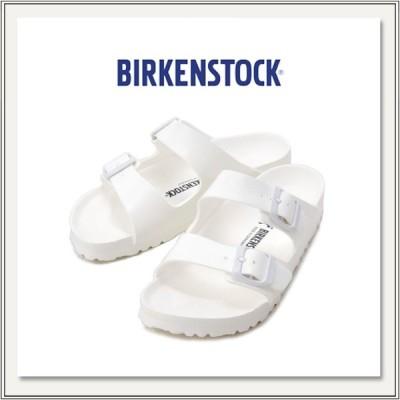 BIRKENSTOCK(ビルケンシュトック) EVA ARIZONA(アリゾナ) WHITE(白色/ホワイト) [サンダル/ビーチサンダル][ダブルストラップ][フラット][メンズ/レディース]