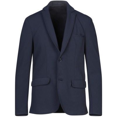 STILOSOPHY INDUSTRY テーラードジャケット ダークブルー 50 ポリエステル 95% / ポリウレタン 5% テーラードジャケット