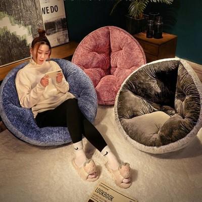 クッション おしゃれ 1PC 枕 シート ぬいぐるみ 大きな ソファ 床 屋内 ホーム チェア 装飾 冬 友達 子供 ギフト 70cm