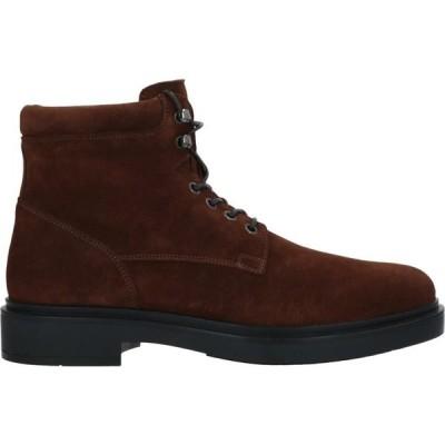 サントーニ SANTONI メンズ ブーツ シューズ・靴 boots Dark brown