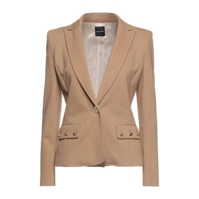 CRISTINAEFFE テーラードジャケット キャメル 40 レーヨン 70% / ナイロン 25% / ポリウレタン 5% テーラードジャケット