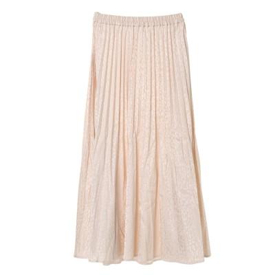 ・SUGAR SPOON レオパードサテンスカート