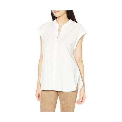 アダムエロペ シャツ バックツイストノースリーブシャツ レディース GAH00430 オフサブ 日本 F (FREE サイズ)