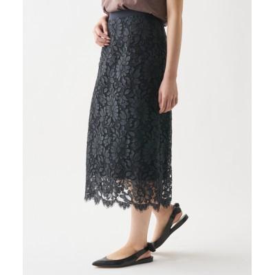 リバーレースタイトスカート
