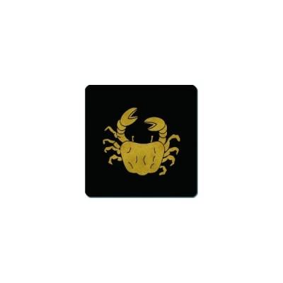 家紋シール 川蟹紋 24cm x 24cm KS24-2104