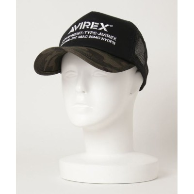 TopIsm / AVR ロゴ刺繍 ナンバリング メッシュキャップ MEN 帽子 > キャップ