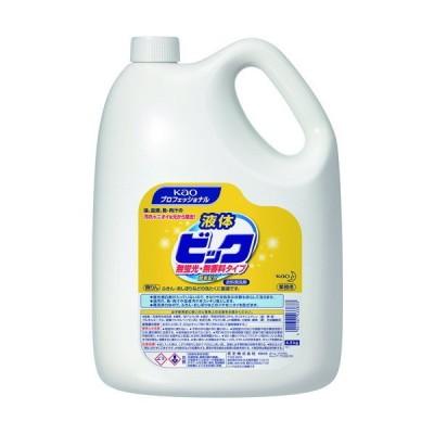 取寄 033833 液体ビック 無蛍光・無香料タイプ 4.5Kg 花王 容量(kg):4.5 1本