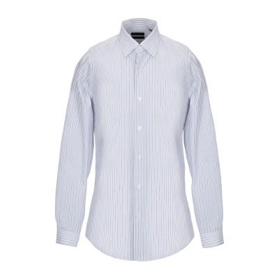 LIU •JO MAN シャツ スカイブルー 38 コットン 100% シャツ