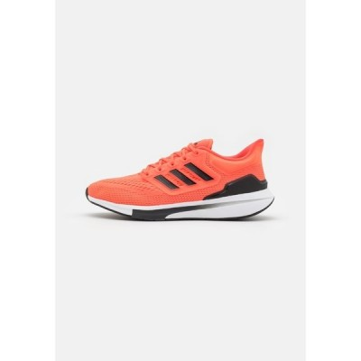 アディダス シューズ メンズ ランニング EQ21 RUN - Neutral running shoes - solar red/core black/carbon
