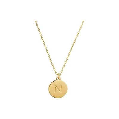 ケイトスペード N Mini Pendant Necklace レディース ネックレス Gold
