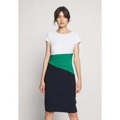 ラルフローレン ワンピース レディース トップス CLASSIC TONE DRESS - Shift dress - navy/malachite