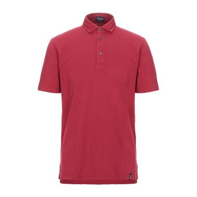 ドルモア DRUMOHR ポロシャツ レッド XS コットン 100% ポロシャツ