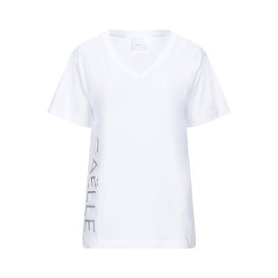 GAëLLE Paris T シャツ ホワイト 0 コットン 100% T シャツ