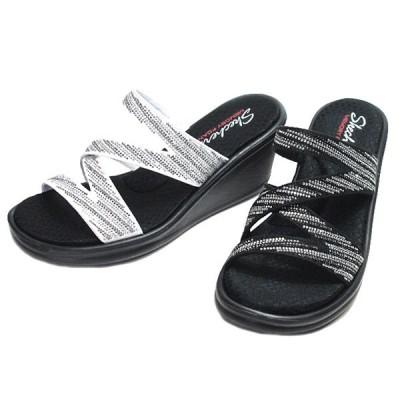 スケッチャーズ SKECHERS RUMBLERS MEGA FLASH ミュールサンダル レディース 靴
