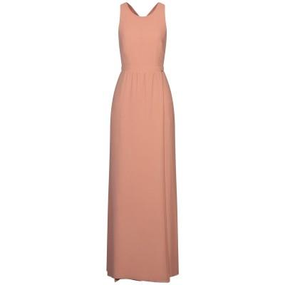 リュー ジョー LIU •JO ロングワンピース&ドレス サンド 42 ポリエステル 100% ロングワンピース&ドレス