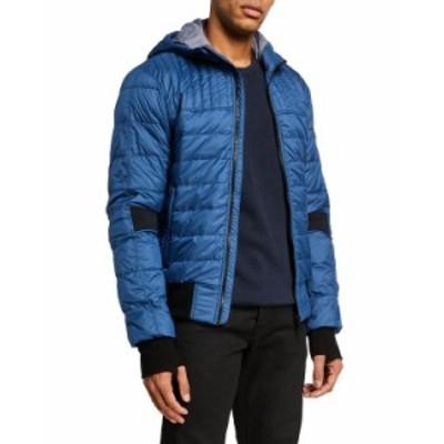 カナダグース メンズ コート アウター Men's Cabri Hooded Puffer Jacket TEMPEST BLUE