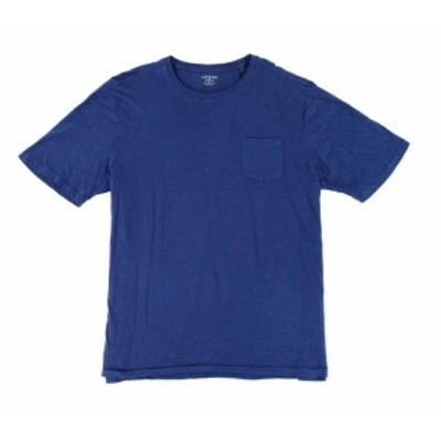 Vintage 1946 ヴィンテージ1946 ファッション トップス VINTAGE 1946 NEW Blue Mens Size 2XL Slub Pocket Crewneck Tee T-Shirt