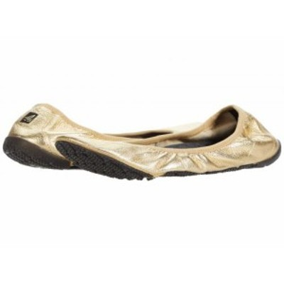 Sperry スペリー レディース 女性用 シューズ 靴 フラット Sonr Flex Leather Gold【送料無料】