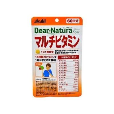 アサヒフード アンド ヘルスケア株式会社 アサヒ・ディアナチュラ(dear-natura)Dear-Natura ディアナチュラスタイルマルチビタミン 60日分(60粒)
