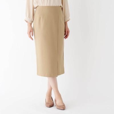 スープ SOUP 【大きいサイズあり・13号】ポンチタイトスカート (ベージュ)