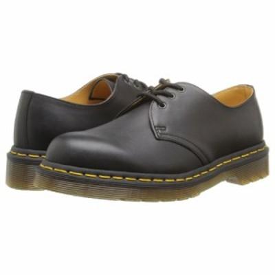 ドクターマーチン Dr. Martens レディース ローファー・オックスフォード シューズ・靴 1461 3-Eye Gibson Black Nappa Leather