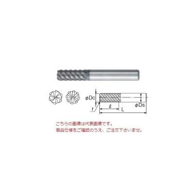 不二越 超硬エンドミル GSH6060SF-R02 (GS MILL ハードラジアス)
