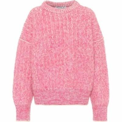 アクネ ストゥディオズ Acne Studios レディース ニット・セーター トップス brushed sweater Pink White