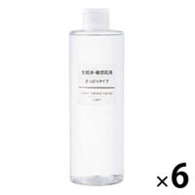 良品計画無印良品 化粧水・敏感肌用・さっぱりタイプ(大容量) 400ml 1箱(6個入) 良品計画