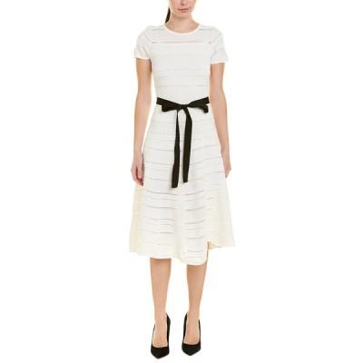 グラシア ワンピース トップス レディース Gracia A-Line Dress white