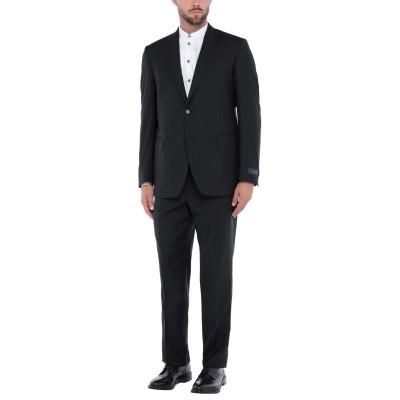 TOMBOLINI スーツ ブラック 50 バージンウール 100% スーツ