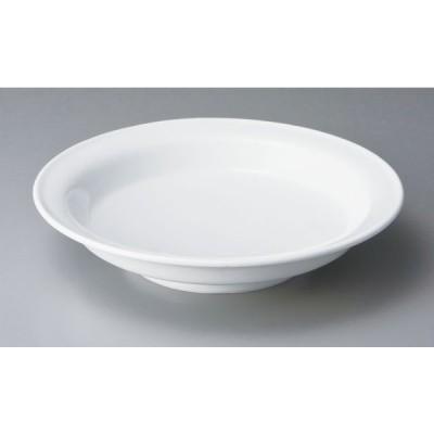 中華 オープン/単品 スーパーホワイト 6.5カブト鉢 [D19.5 x 4cm]  料亭 旅館 和食器 飲食店 業務用