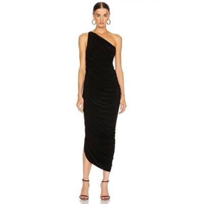 ノーマ カマリ Norma Kamali レディース パーティードレス ワンピース・ドレス Diana Gown Black