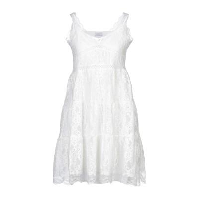 NAVY LONDON ミニワンピース&ドレス ホワイト 10 ポリエステル 100% ミニワンピース&ドレス