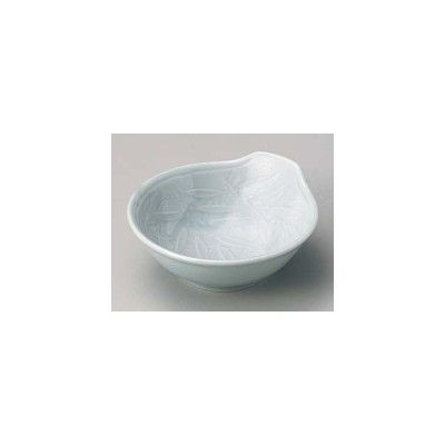 和食器 キ116-327 青磁笹彫とんすい