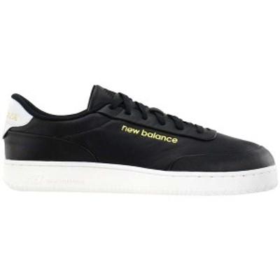ニューバランス メンズ スニーカー シューズ CT Alley Lace Up Sneakers Black / White