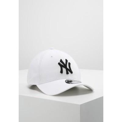 ニューエラ メンズ 帽子 アクセサリー Cap - white/black white/black