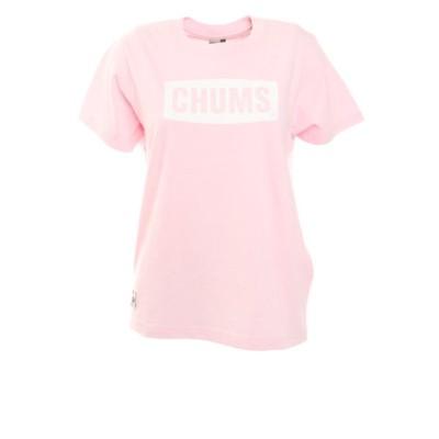 チャムス(CHUMS)チャムスロゴ半袖Tシャツ CH11-1833-R018 アウトドア カジュアル かわいい