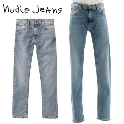 ヌーディージーンズ Nudie Jeans THIN FINN シンフィン デニム ジーンズ パンツ スリム LIGHT BLUE COMFORT 色落ち スキニー メンズ