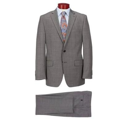 ラルフローレン メンズ ジャケット・ブルゾン アウター Classic Fit Neat Black Wool Suit