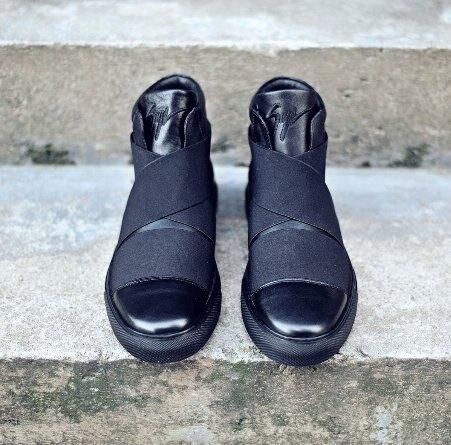 歐美 高端訂製鞋款  真皮  厚底 真皮靴 馬丁編織綁帶 跑鞋 GD