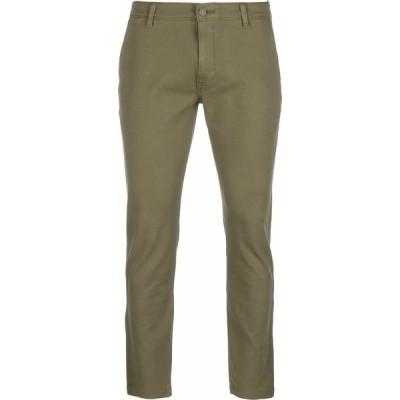 リーバイス カジュアルパンツ メンズ ボトムス STD II - Trousers - bunker olive shady