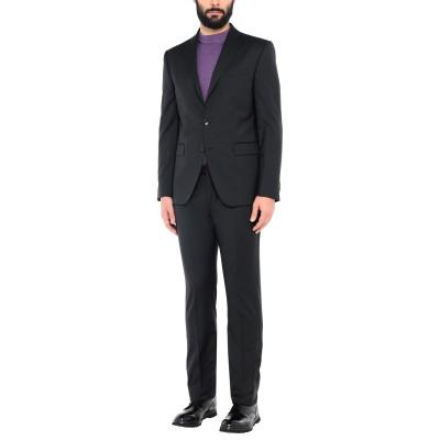 CITY TIME スーツ ブラック 46 バージンウール 100% スーツ