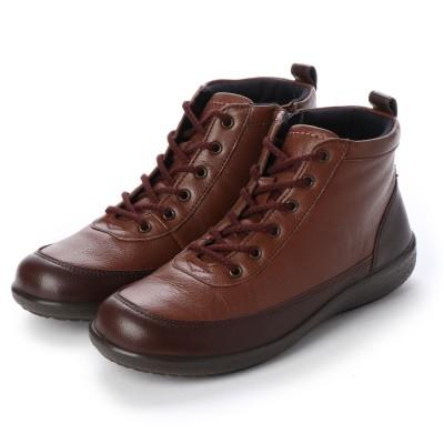 アキレス ソルボ ACHILLES SORBO ブーツ (ダークブラウン/コーヒー)
