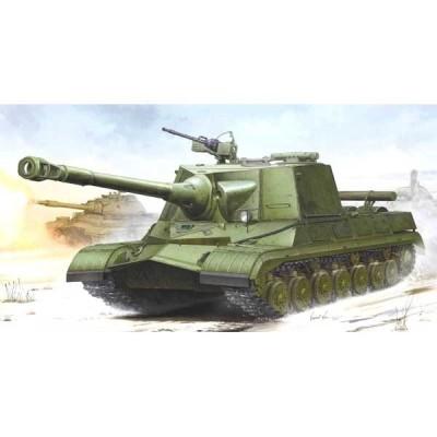 トランペッター 1/ 35 ソビエト軍 オブイェークト268 重駆逐戦車(05544)プラモデル 返品種別B