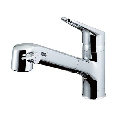 LIXIL-浄水器内蔵シングルレバー混合水栓-微細シャワー整流-凍結防止水抜き仕様-RJF-771YN