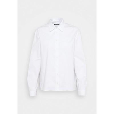 マルコポーロ シャツ レディース トップス BLOUSE OVERSIZED FIT LONG SLEEVED - Button-down blouse - white
