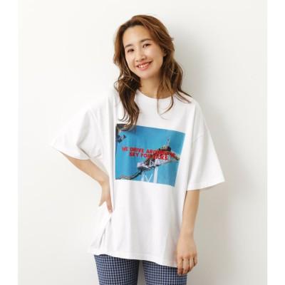 Summer Photo Tシャツ WHT